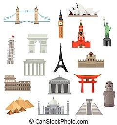 Arquitectura, monumento o icono.
