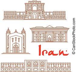 Arquitecturas de Irán, turismo