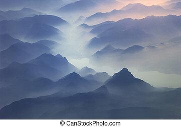 Arriba de las montañas, arriba