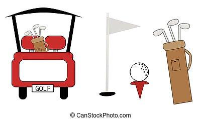 Artículos de golf