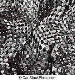 arte abstracto, áspero, plano de fondo, textured