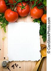 arte culinario, plano de fondo