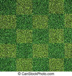 artificial, pasto o césped, textura, verde