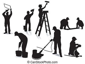 Artisanos y pintores