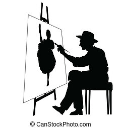 Artista con facilidad