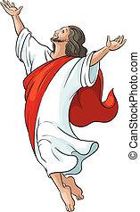 Ascensión de Jesús aislada