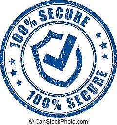Asegura el sello de vector de protección