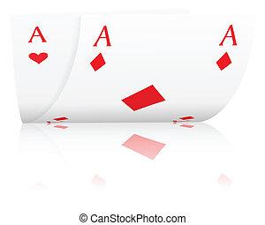ases, póker