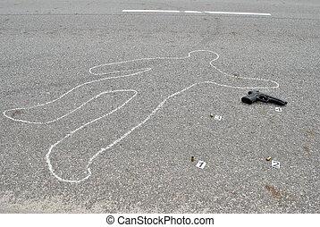 Asesinato en la calle