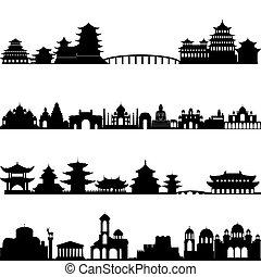Asia de arquitectura
