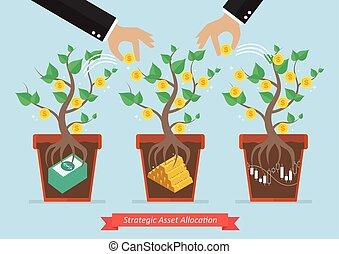 Asignación de activos estratégicos