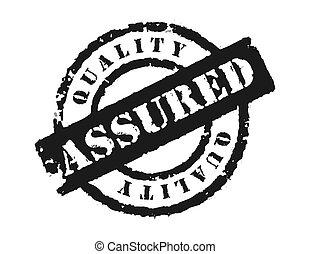 assured', estampilla, 'quality