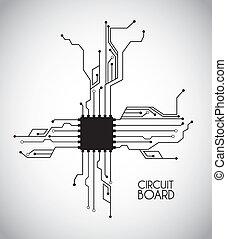 astilla, circuito