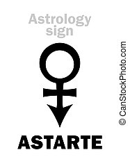 Astrología: la estrella ASTARTE (Venus)