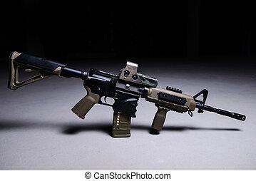 Asultar rifle automático