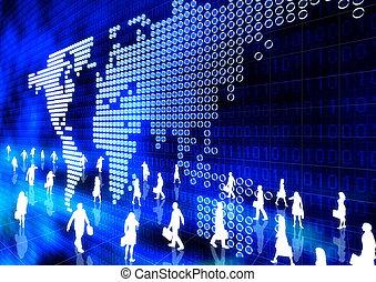 Asuntos globales en línea