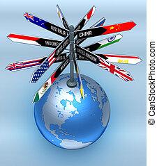 Asuntos globales y turismo