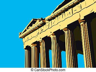 atenas, parthenon, acrópolis
