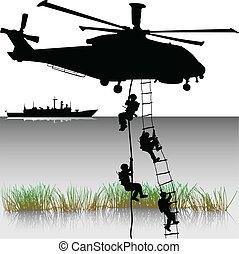Aterrizaje de helicópteros
