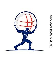 atlas, logotipo