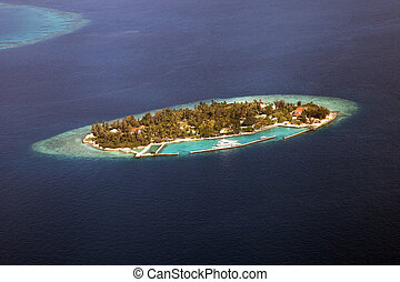atolón, maldivas
