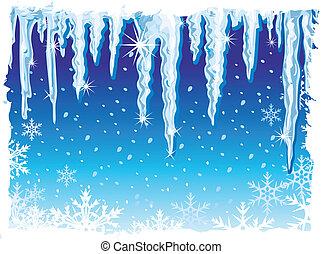 Atrás con hielo