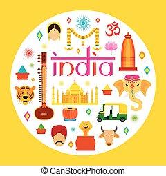 Atraccion de viajes India