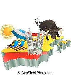 Atracciones turísticas españolas en España