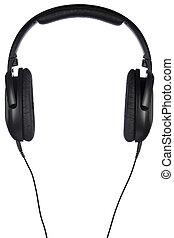 Audífonos aislados en blanco