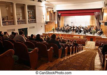 Auditorio de concierto