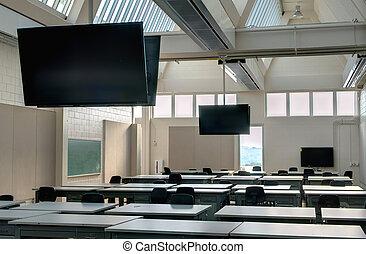 aula, moderno