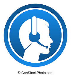 auriculares, contacto, icono