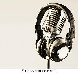 auriculares, micrófono