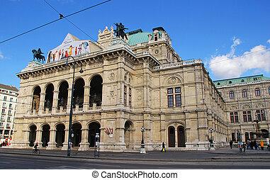 austria, ópera del estado de viena