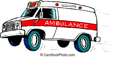 Auto de ambulancia