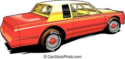 Auto deportivo de carreras