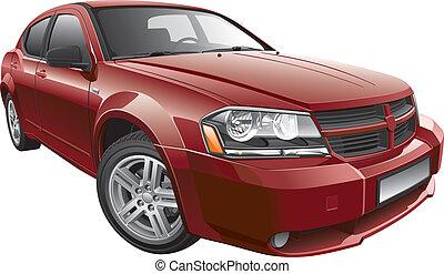Auto mediano americano