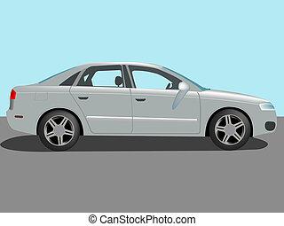 automóvil, vector