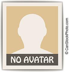 avatar masculino vector