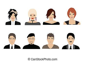 avatares de la gente