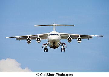 Avión en el cielo