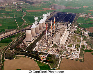 Aviación de planta de energía
