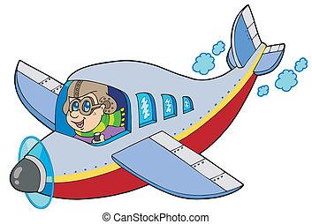 Aviador de cartones