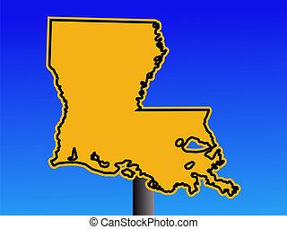 Aviso de Luisiana