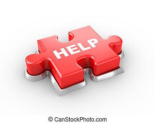Ayuda a botón