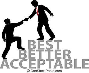 Ayuda a unir a la mejor gente de negocios