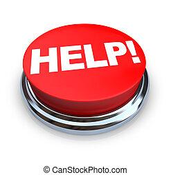 Ayuda, botón rojo