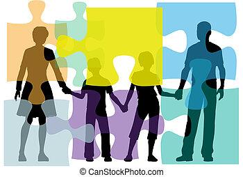 Ayudar a la familia a resolver problemas