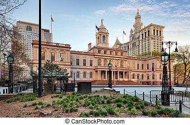 Ayuntamiento de Nueva York, EE.UU