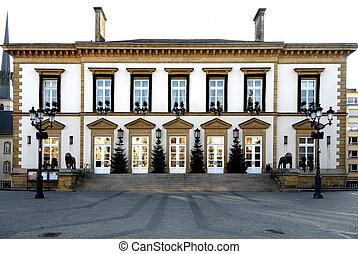 ayuntamiento, luxemburgo